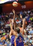 WNBA Connecticut Sun 93 vs. Phoenix Mercury 92 (95)