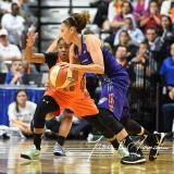 WNBA Connecticut Sun 93 vs. Phoenix Mercury 92 (98)