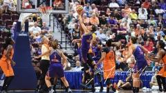 WNBA Connecticut Sun 93 vs. Phoenix Mercury 92 (99)