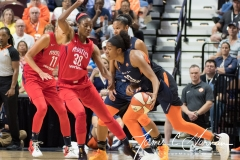 WNBA - Connecticut Sun 94 vs. Washington Mystics 68 (46)