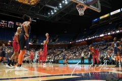 WNBA - Connecticut Sun 94 vs. Washington Mystics 68 (47)
