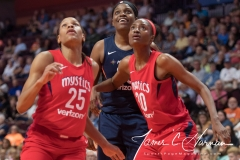 WNBA - Connecticut Sun 94 vs. Washington Mystics 68 (61)