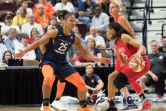 WNBA - Connecticut Sun 94 vs. Washington Mystics 68 (62)
