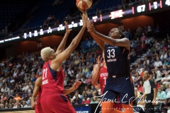 WNBA - Connecticut Sun 94 vs. Washington Mystics 68 (64)
