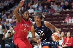 WNBA - Connecticut Sun 94 vs. Washington Mystics 68 (66)