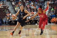WNBA - Connecticut Sun 94 vs. Washington Mystics 68 (77)