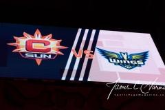 WNBA - Connecticut Sun 96 vs. Dallas Wings 76 (1)
