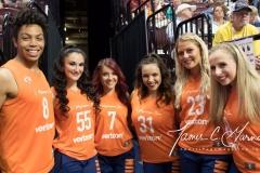 WNBA - Connecticut Sun 96 vs. Dallas Wings 76 (16)