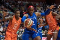 WNBA - Connecticut Sun 96 vs. Dallas Wings 76 (28)