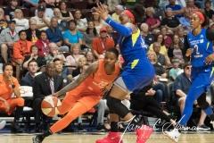 WNBA - Connecticut Sun 96 vs. Dallas Wings 76 (29)