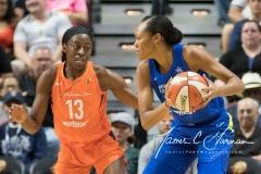 WNBA - Connecticut Sun 96 vs. Dallas Wings 76 (31)