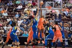 WNBA - Connecticut Sun 96 vs. Dallas Wings 76 (32)