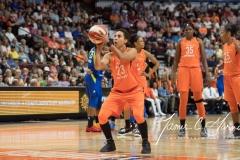WNBA - Connecticut Sun 96 vs. Dallas Wings 76 (34)