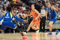 WNBA - Connecticut Sun 96 vs. Dallas Wings 76 (42)