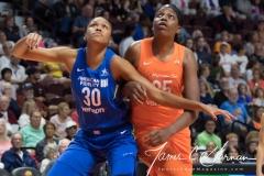 WNBA - Connecticut Sun 96 vs. Dallas Wings 76 (44)