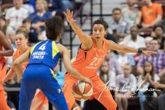 WNBA - Connecticut Sun 96 vs. Dallas Wings 76 (46)