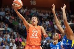WNBA - Connecticut Sun 96 vs. Dallas Wings 76 (47)
