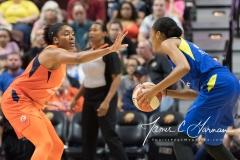 WNBA - Connecticut Sun 96 vs. Dallas Wings 76 (48)