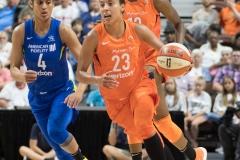 WNBA - Connecticut Sun 96 vs. Dallas Wings 76 (49)