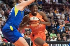 WNBA - Connecticut Sun 96 vs. Dallas Wings 76 (50)