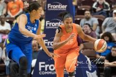 WNBA - Connecticut Sun 96 vs. Dallas Wings 76 (60)