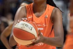 WNBA - Connecticut Sun 96 vs. Dallas Wings 76 (61)
