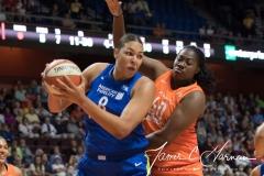 WNBA - Connecticut Sun 96 vs. Dallas Wings 76 (62)