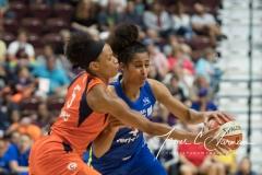 WNBA - Connecticut Sun 96 vs. Dallas Wings 76 (71)