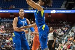 WNBA - Connecticut Sun 96 vs. Dallas Wings 76 (74)