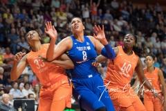 WNBA - Connecticut Sun 96 vs. Dallas Wings 76 (76)