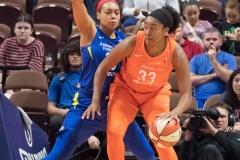 WNBA - Connecticut Sun 96 vs. Dallas Wings 76 (78)