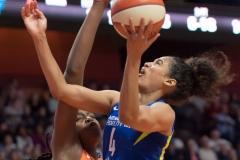 WNBA - Connecticut Sun 96 vs. Dallas Wings 76 (79)