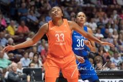 WNBA - Connecticut Sun 96 vs. Dallas Wings 76 (80)