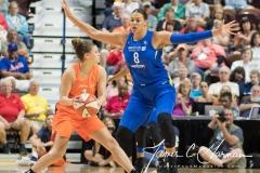 WNBA - Connecticut Sun 96 vs. Dallas Wings 76 (81)