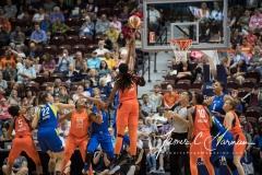 WNBA - Connecticut Sun 96 vs. Dallas Wings 76 (82)