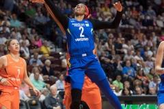 WNBA - Connecticut Sun 96 vs. Dallas Wings 76 (83)