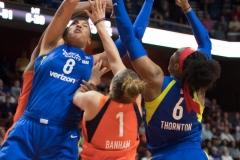WNBA - Connecticut Sun 96 vs. Dallas Wings 76 (84)