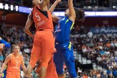WNBA - Connecticut Sun 96 vs. Dallas Wings 76 (91)