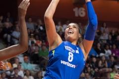 WNBA - Connecticut Sun 96 vs. Dallas Wings 76 (92)