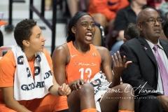 WNBA - Connecticut Sun 96 vs. Dallas Wings 76 (93)