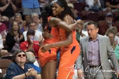 WNBA - Connecticut Sun 96 vs. Dallas Wings 76 (96)