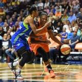 WNBA Connecticut Sun 96 vs. Dallas Wings 88 (102)
