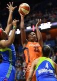 WNBA Connecticut Sun 96 vs. Dallas Wings 88 (103)