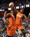 WNBA Connecticut Sun 96 vs. Dallas Wings 88 (105)