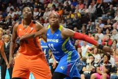 WNBA Connecticut Sun 96 vs. Dallas Wings 88 (112)