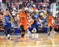WNBA Connecticut Sun 96 vs. Dallas Wings 88 (115)