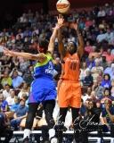 WNBA Connecticut Sun 96 vs. Dallas Wings 88 (116)