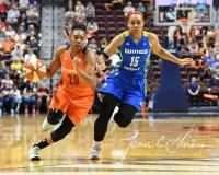 WNBA Connecticut Sun 96 vs. Dallas Wings 88 (120)