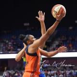 WNBA Connecticut Sun 96 vs. Dallas Wings 88 (121)