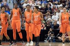 WNBA - Connecticut Sun 96 vs. Minnesota Lynx 79 (108)